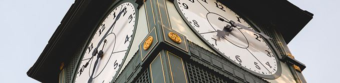 Close Up of Clock Tower