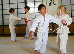 Kids Taking Part in Aikido